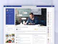 Facebook Concept - Media