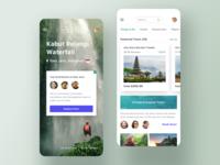Trip app - Explore spots