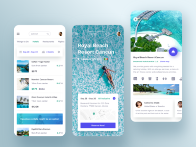 Trip app - Hotel booking
