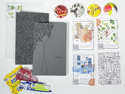 """Chew This"" Food Waste Zine"
