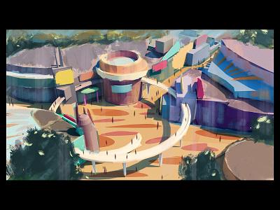Cutting-Edge [W.I.P] futurism drawing digital painting paint concept design concept art illustration