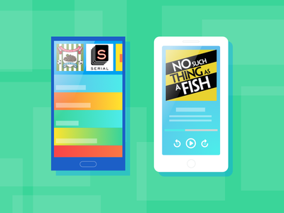 Android and iOS mobile download graphics podcast mobile svg download android ios