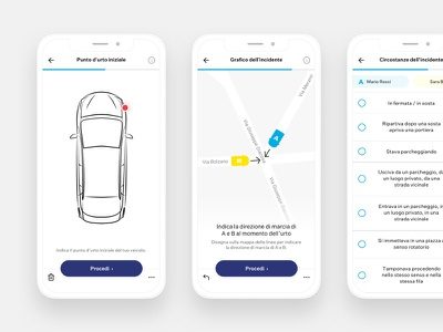 Accident report map car insurance mobile app report accident