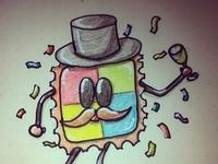 LSD-GUY - Sticker