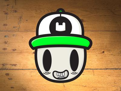 Dead Cap - Sticker - thecloudartist