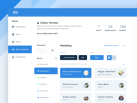 Dashboard Member Page | Explore Idea
