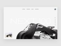 BMW Next 100 Moto