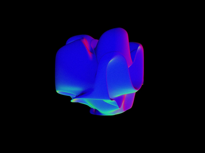 Blob Experimenting #1 👀 abstract blobs 3d bubble blob animation animation after effects threejs gradients smooth