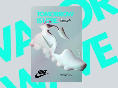 👟 Nike Vaporwave Morphing Poster #2