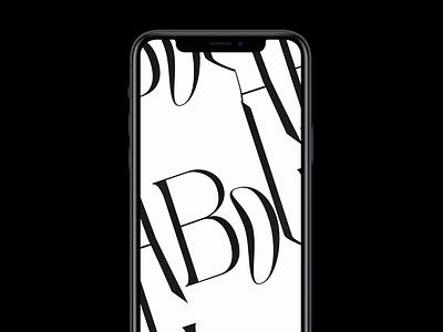 Serif Type Animation | Instagram Highlights bodoville kinetictypography kinetic type kinetic kinetictype typography type animations animation 2d animation