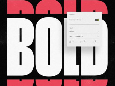 Bold Recipe Mix kinetictype bold typeanimation type animation 2d animations typography animation