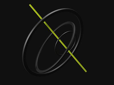 Floating Rings 💫 3d rings ring rings floating animation floating blender3d 3d animation 3d art blender 3d animation