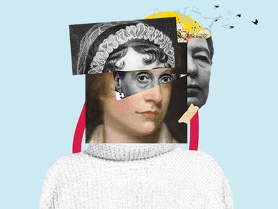Collage Art / Feminist Authors Squad
