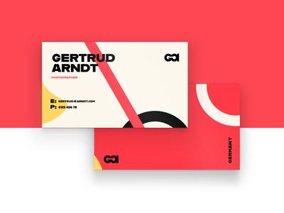 Arndt Business Card Design