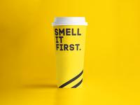 Pumpkin Café / Paper Cup Design