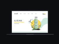 Bevande Futuriste / Landing Page