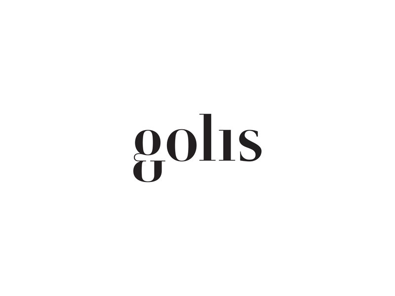 Identity design for Golis serif typography photography brand logo 2d identity design branding