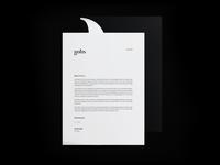 Karolina Golis // letterhead design