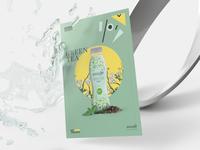 Amate Tea Line Poster Design