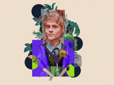 Article Visual Set - Collage Artwork