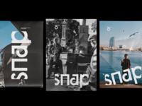 IOMIO branding #8 - Snap poster series 📷