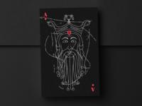 Wōden - Playing Card
