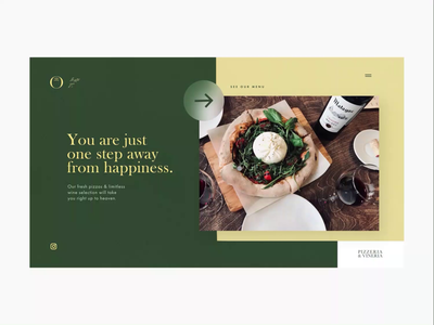 Monte Restaurant Branding / Landing Page #8