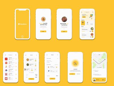 Foodora Ordering APP interaction design ui