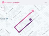 Daily UI #020 - Location Tracker