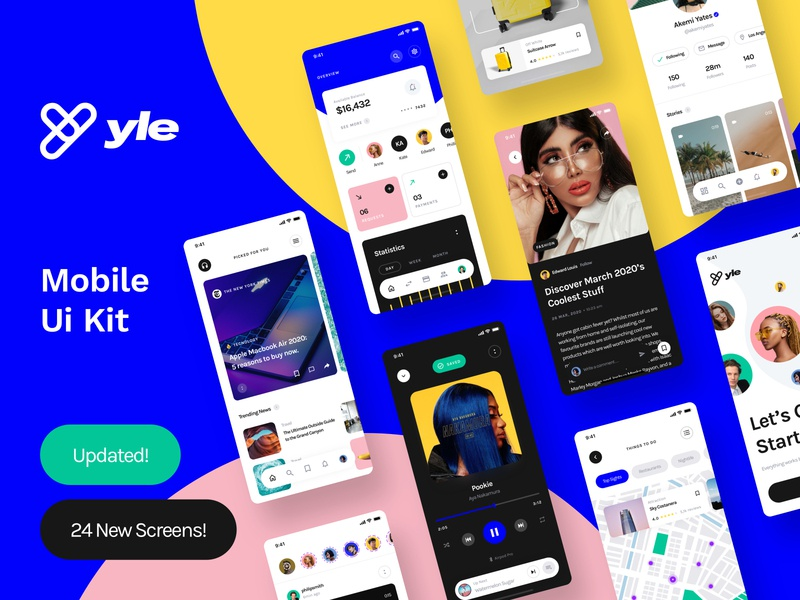 Yle UI Kit . Updated!