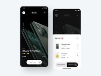 Product Screen - Yle Store UI Kit checkout cart iphone product ecommerce store shopping unsplash sketch ui8 ui kit ux user interface user experience ui mobile interface design app