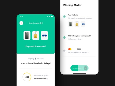 Checkout Screens - Yle Store UI Kit order payment successful cart checkout ecommerce store unsplash sketch ui8 ui kit ux user interface user experience ui mobile interface design app