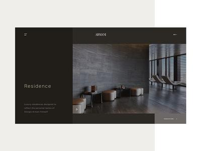 Armani Hotel - Residence