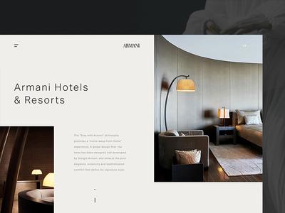 Armani Hotel - About