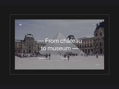 Louvre Museum - Desktop About