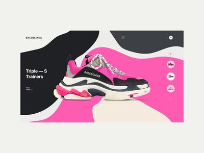 Balenciaga - Triple S Pink Vanille