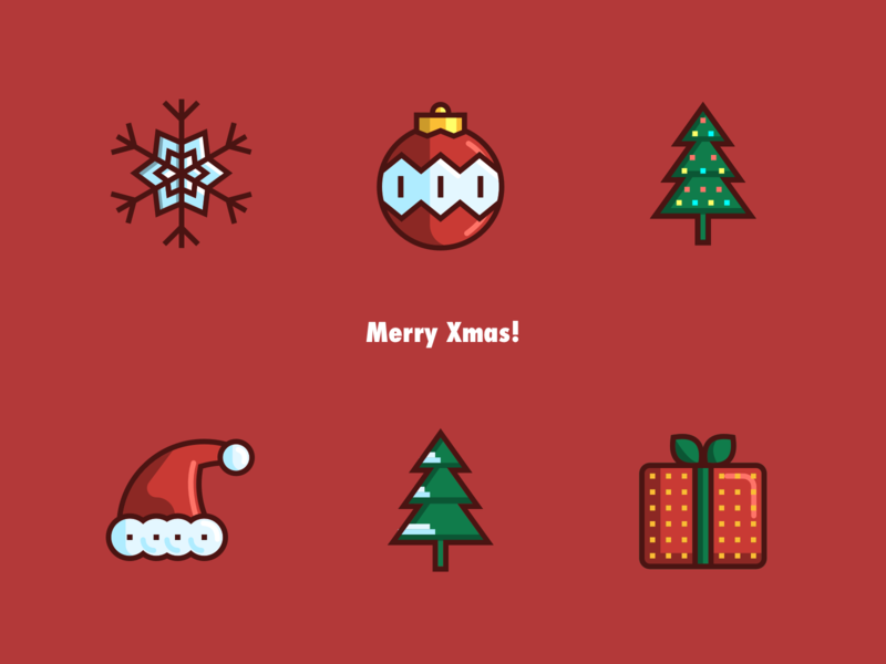 Christmas Iconography.Merry Christmas By Mr Salty On Dribbble
