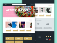 Artmx - e commerce template