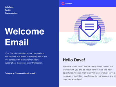 Welcome email app email marketing welcome shot ui design welcome page service design ux onboarding ui onboarding email design welcome email welcome