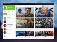Social news website
