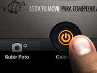 Calculator - tab bar iPhone app design