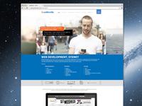 Concept Website for Webcoda