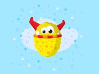The Sponge monster