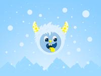 Cute arctic monster