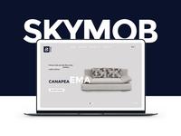 Skymob Website Landing Page