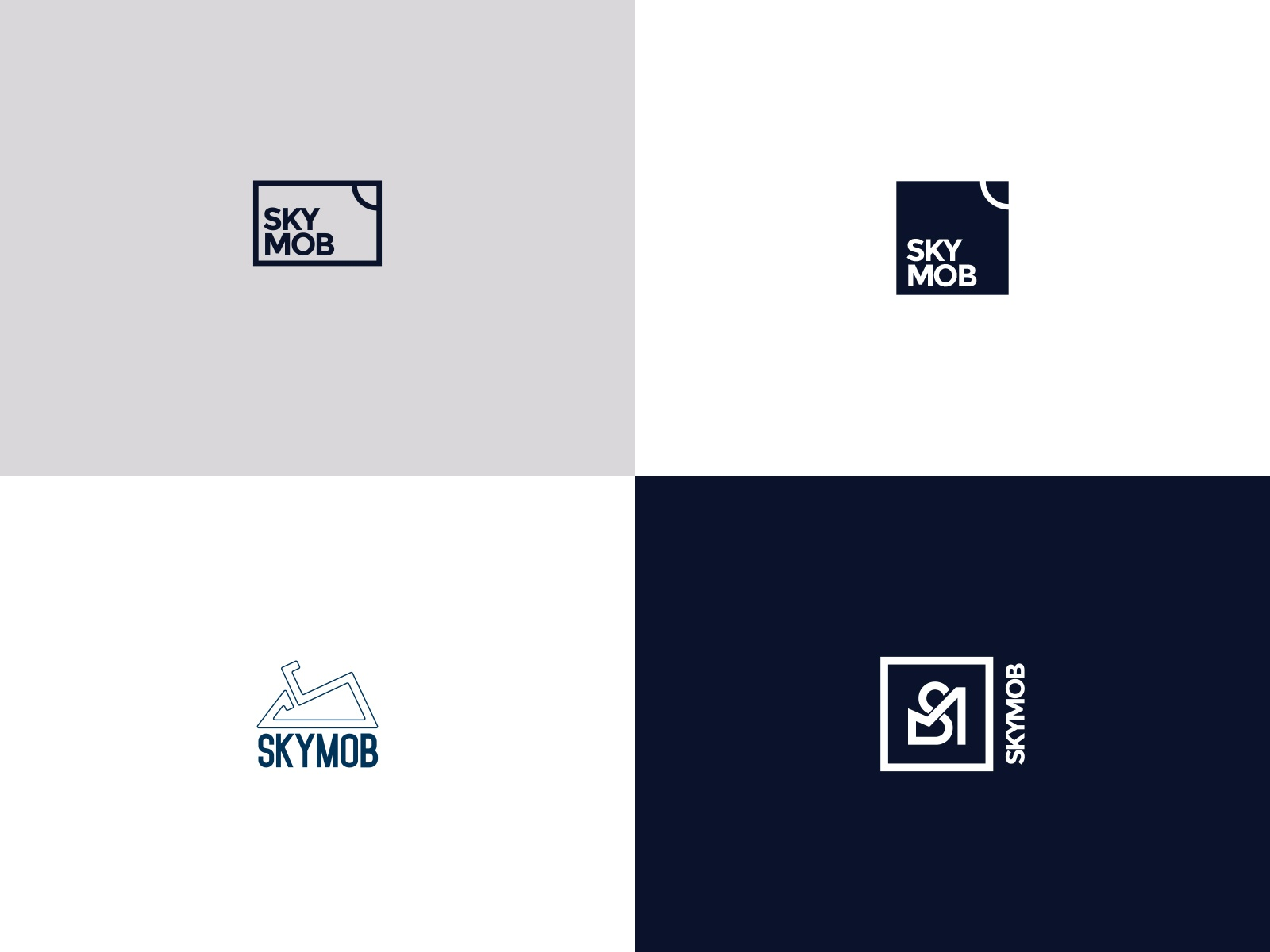 Logo concepts - Skymob