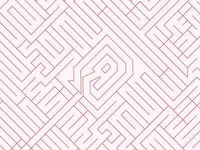Reversed Logo Linework