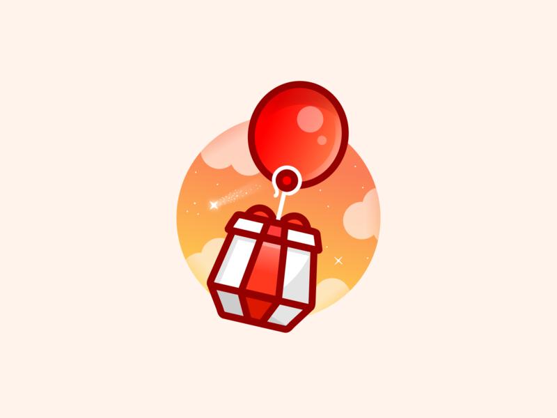 Balloon outline illustration ballloon animal crossing