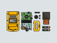 Gameboy Color Dissection