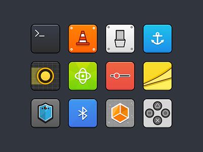 Icons free open gnu vlc set notflat icons ui icon